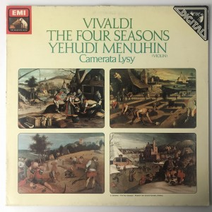 Vivaldi - The Four Seasons LP ASD3964 BDB