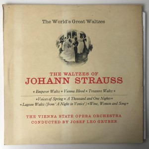 The Waltzes Of Johann Strauss LP RDM53 BDB