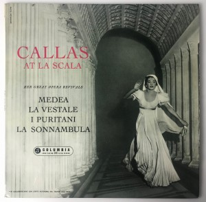 Maria Callas - Callas At La Scala LP 33CX1540 BDB