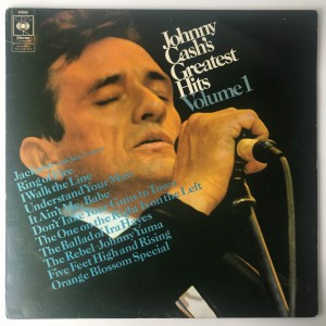 Johnny Cash - Greatest Hits Volume 1 LP 63062 BDB