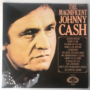 The Magnificent Johnny Cash LP SHM777 BDB