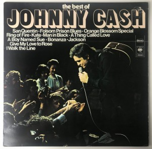 Johnny Cash The Best Of Johnny Cash LP S65846 BDB