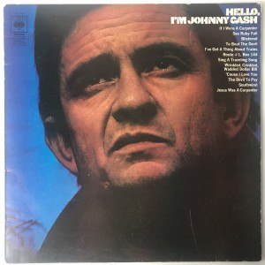 Johnny Cash-Hello, I'm Johnny Cash LP 63796 zadow