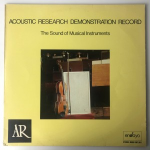 Acoustic Research Demonstration Record LP ENYAR1 DB
