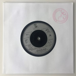 Something 'Bout You Baby I Like single QUO5 VG