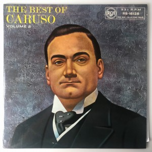 The Best Of Caruso Volume 2 LP RB16128 VG