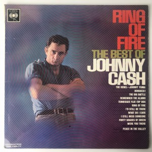 Ring Of Fire The Best Of Johnny Cash LP 62171 VG
