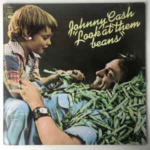 Johnny Cash - Look At Them Beans LP 81012 VG