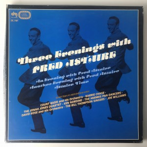 Three Evenings With Fred Astaire LP set S3L5181 VG