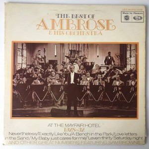 The Best Of Ambrose & His Orchestra LP MFP1258 VG