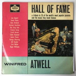 Winifred Atwell - Hall Of Fame LP LK4341 VG