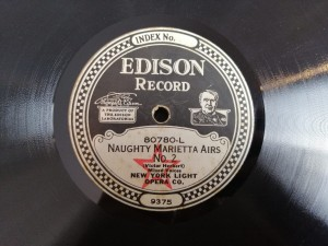 Dysk Edisona New York Light Naughty Marietta 80780