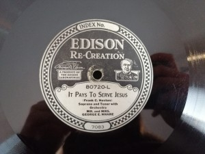 Dysk Edisona Passing By/ Pays To Serve Jesus 80720