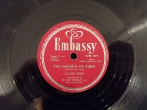 D.Ross:The Garden Of Eden/Singing The Blues WB219