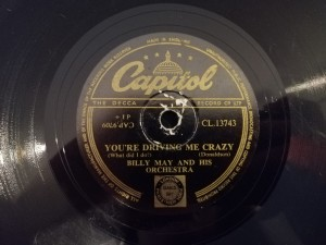 May:You're Driving Me Crazy/Mambo Petardo CL12743