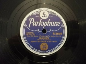Benny Goodman Scarecrow / Time On My Hands Parlophone R2835