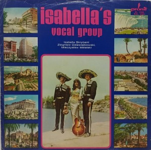 Isabella's Vocal Group  LP XL1025 DB