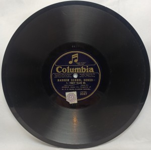 3247 Dr. P. C. Buck: Harrow School Songs 1/2 Columbia