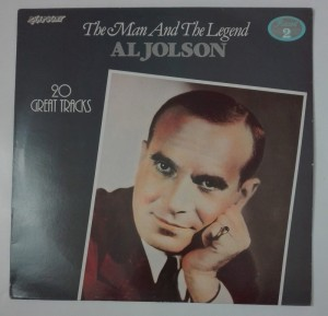 Al Jolson - The Man And The Legend 2 LP winyl stan dosk