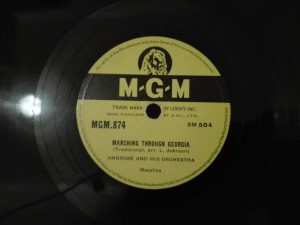 Ambrose - Marching Through Georgia / Bluebell Polka, MGM