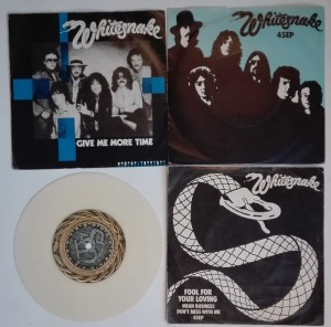 4 single 45EP - Whitesnake-Still Of The Night Here I Go Again
