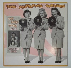 The Andrews Sisters - The Early Years vol. 2 LP winyl bdb