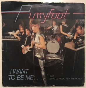 Pussyfoot - I Want To Be Me singiel EMI5045 DB