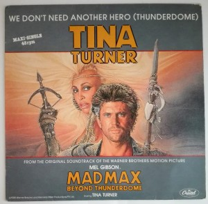 Tina Turner - Madmax - We Don't Need Another Hero LP db