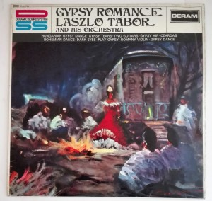 Laszlo Tabor And His Orchestra - Gypsy Romance LP db