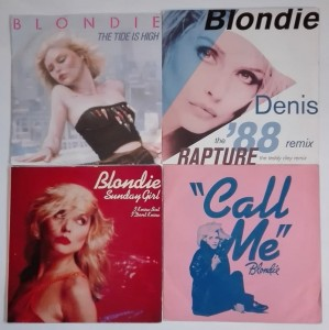 Blondie - Call Me, Susie And Jeffrey 4 winyle single