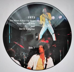 Queen - 1973 - 1977 LP picture disc stan db