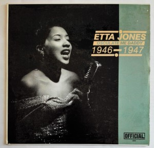 Etta Jones - Osculate Me Daddy 1946 - 1947 LP bdb