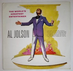 Al Jolson - The World's Greatest Entertainer LP dosk