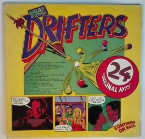 The Drifters - 24 Original Hits LP stan zadowalający