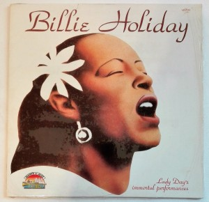Billie Holiday Lady Day's Immortal Performances LP bdb