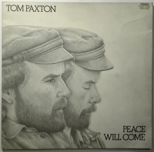 Tom Paxton - Peace will come LP winyl stan idealny