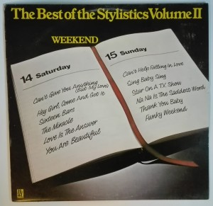 The Best of the Stylistics Volume II LP stan dobry