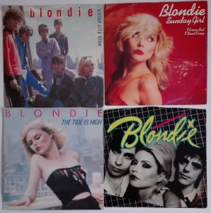 Blondie - Sunday Girl, The Hardest Part 4 winyle single