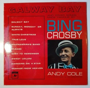 Andy Cole - Galway Bay sings Bing Crosby LP winyl stan db