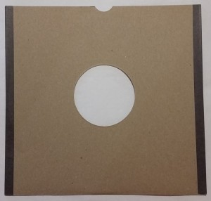 "Old cardboard envelope 10"" for shellac records"