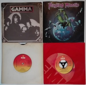 4 winyle Gamma, Judas Priest, Troy, Angelo