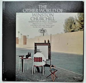 The Other World Of Winston Churchill LP vinyl good