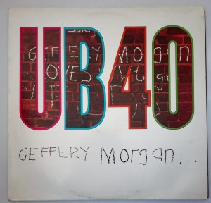UB40 - Geffery Morgan LP winyl stan db