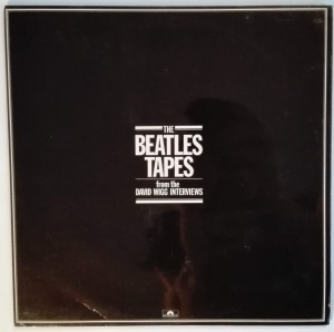 The Beatles Tapes from the David Wigg Interviews 2LP mint