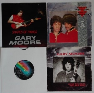 4 single Garry Moore Over The Hills and Far Away 45EP