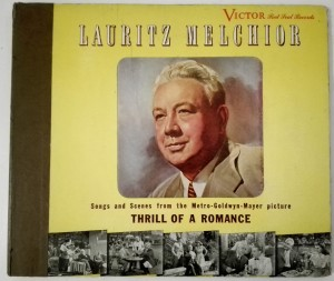 Album Lauritz Melchior - Thrill Of A Romance Victor 3 płyty
