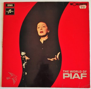The World Of Edith Piaf LP winyl stan zadowalający