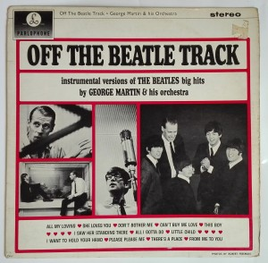 George Martin - Off the Beatle Track LP b. dobry