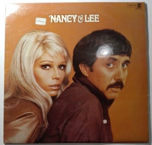 The hits of Nancy & Lee LP vinyl good