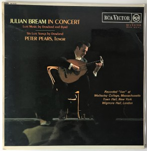 Bream, Pears Julian Bream In Concert LP SB6646 BDB